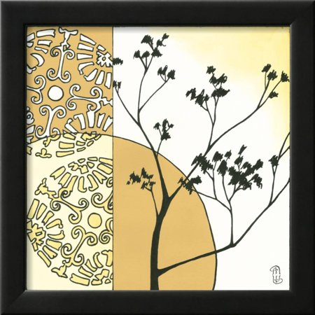 Kimono Garden I Framed Print Wall Art By Megan Meagher - Walmart.com
