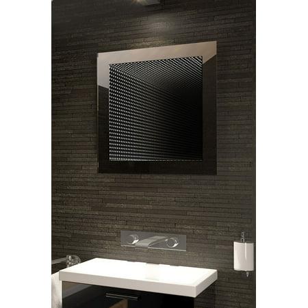 Perfect Reflection LED Bathroom Infinity Mirror K211 (Led Infinity)