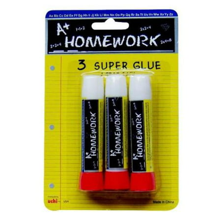super glue sticks 3 pack case pack 48. Black Bedroom Furniture Sets. Home Design Ideas