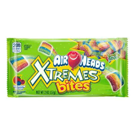 Airheads Xtremes Rainbow Berry Bites, 2 Ounce (Pack of 18) - Airhead Extreme