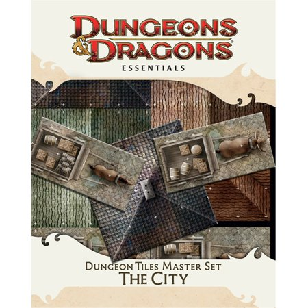Dungeon Tiles Master Set - The City : An Essential Dungeons & Dragons Accessory ()