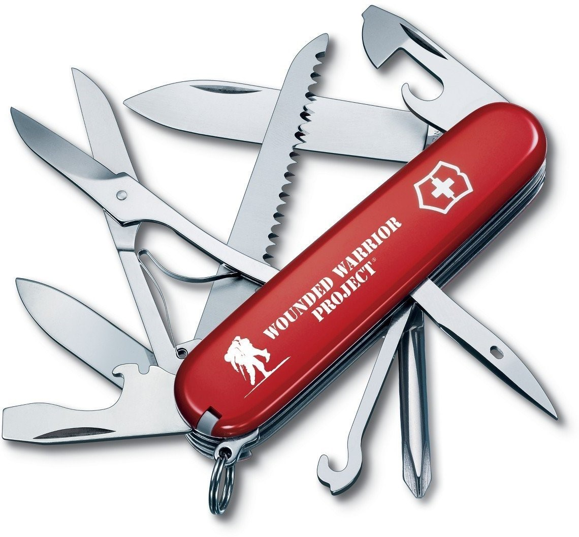 Fieldmaster Pocket Knife (Red (WWP)) by Victorinox Swiss Army