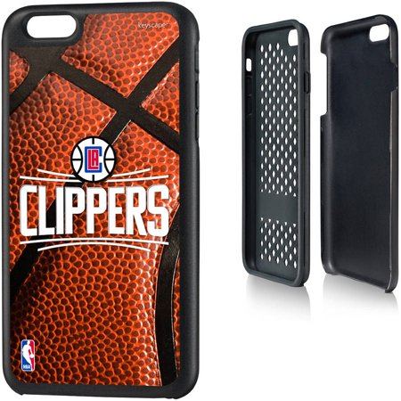 Los Angeles Clippers Basketball Design Apple iPhone 6 Plus Rugged Case by Keyscaper by