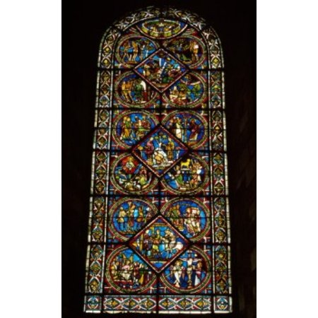 France burgundy sens sens cathedral parable of the good for 18x24 window