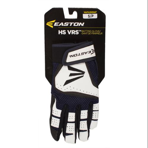 Easton A121817PRS VRS Icon Youth Batting Gloves White/Navy S
