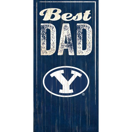 BYU Cougars 6'' x 12'' Best Dad Sign - No Size
