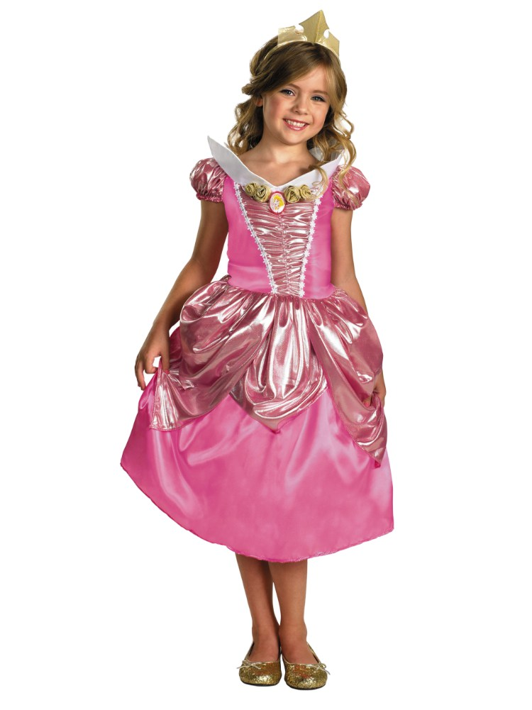 Disney Toddler u0026 Little Girls Princess Aurora Costume with Pink Dress u0026 Tiara - Walmart.com  sc 1 st  Walmart & Disney Toddler u0026 Little Girls Princess Aurora Costume with Pink ...