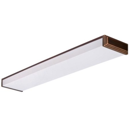 Lithonia Lighting 10648re Bz 2 Light Flushmount Ceiling Fixture Energy Star