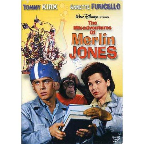 The Misadventures Of Merlin Jones (Full Frame)