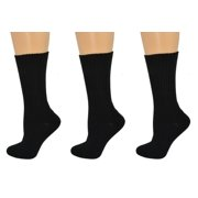 Organic Cotton Outdoor Crew Socks 3 Pair Pack