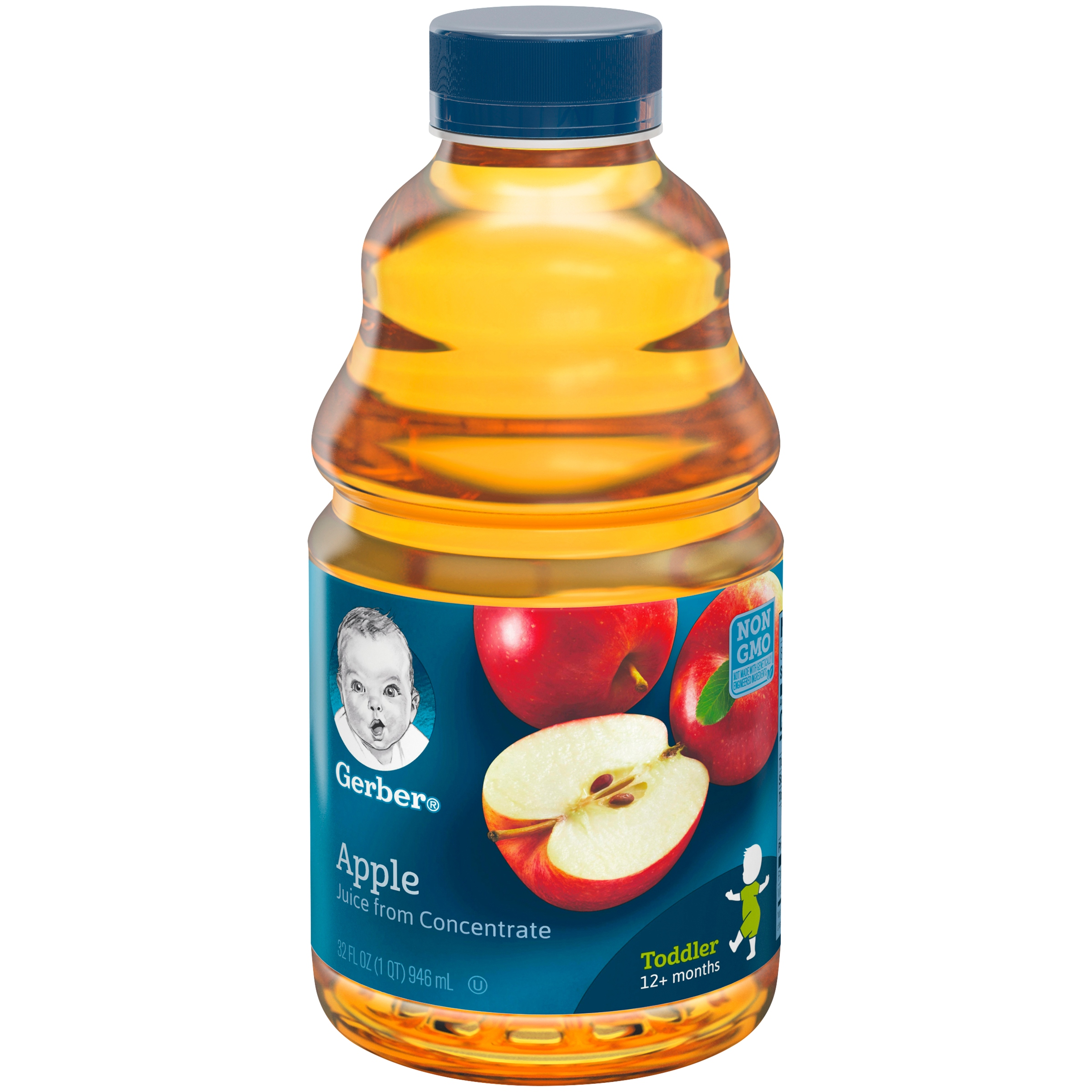 Gerber Apple Juice 32 fl. oz. Bottle