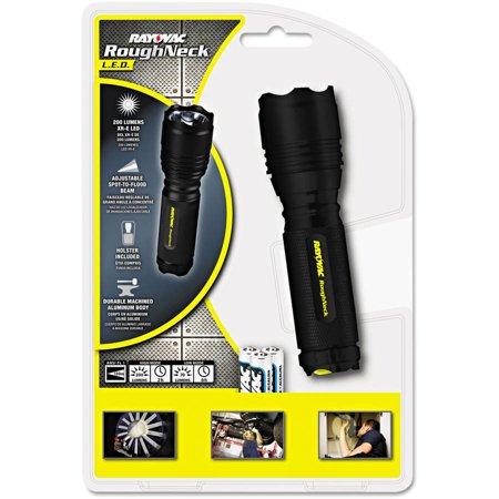 Rayovac LED Aluminum Flashlight, 3 AAA, Black