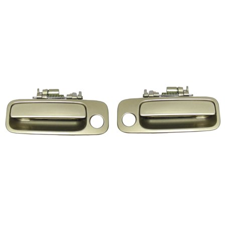 Brand NEW For Front Right and Left 1997-2001 Toyota Camry Cashmere Beige Metallic 4M9 Outside Door Handle 2PCS 97 98 99 00 01