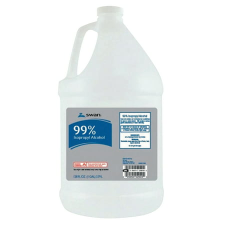ACME UNITED Alcohol Isopropyl 99%, 1 Gallon Bottle