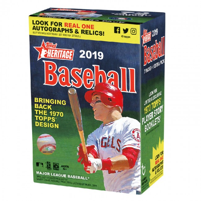 Topps 2018 Heritage Retail Display Booster Box