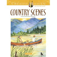 Product Image Creative Haven Coloring Books Country Scenes Book Paperback