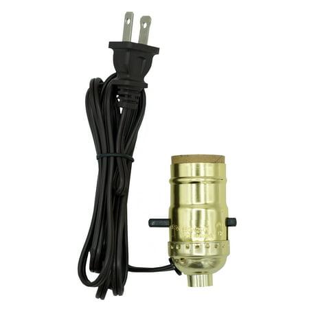 Creative Hobbies M995n Instant Lamp Kit Bright Brass