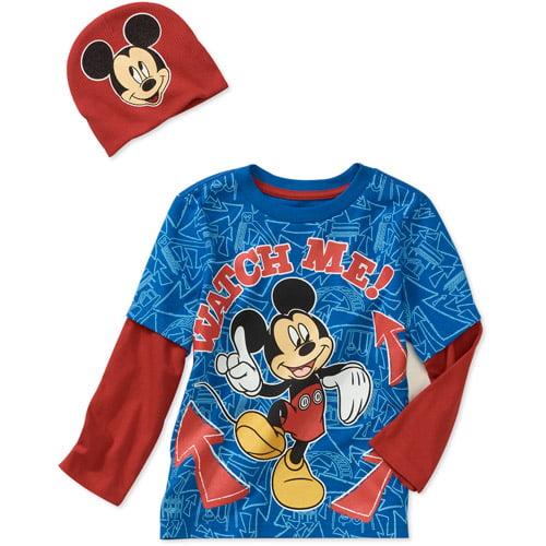 Disney Baby Boys' Mickey 2-piece Hangdow