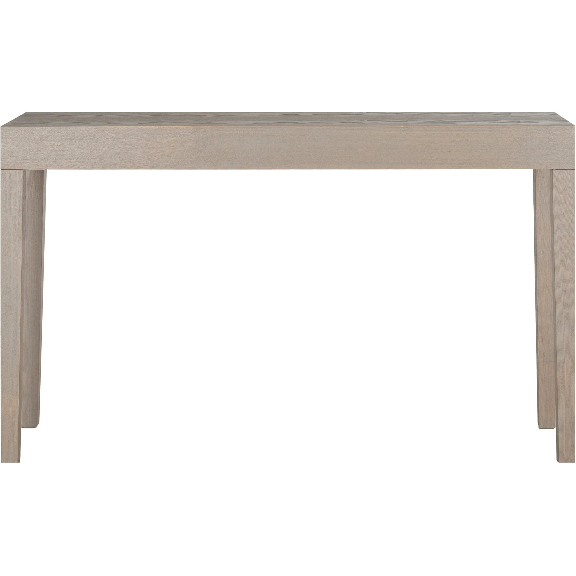 Parsons End Table Finish White With Chevron Accent