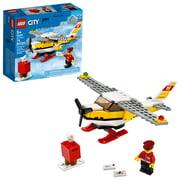 LEGO City Mail Plane 60250 Building Set for Kids (74 Pieces)