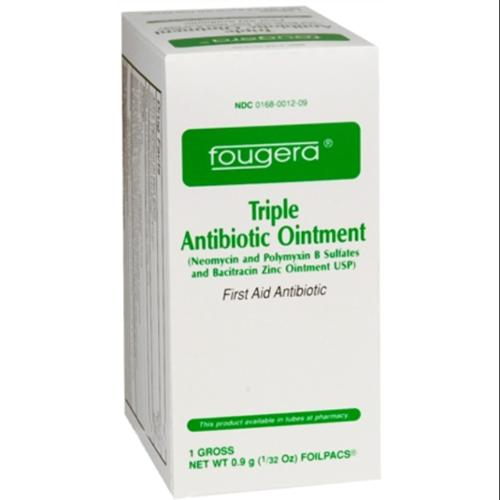 Fougera Triple Antibiotic Ointment Foilpacs 144 Each