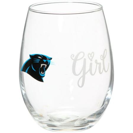 Carolina Panthers 15oz. Girl Stemless Tumbler - No Size](Cheap Panthers Gear)
