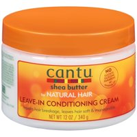 Cantu Shea Butter for Natural Hair Leave-In Conditioning Cream, 12 fl oz