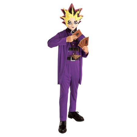 Yu-Gi-Oh! Boys Anime Halloween Costume Jumpsuit & Mask](Yugioh Halloween Costume)