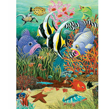 White mountain puzzles fish in the sea puzzle 300 pieces for Whiting fish at walmart