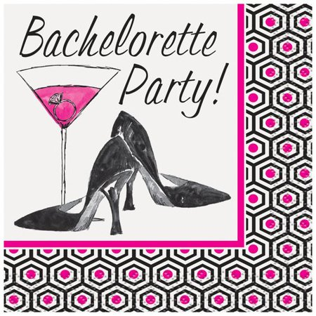 Girls Night Out Bachelorette Party Beverage Napkins, (Night Beverage Napkins)