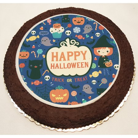 Halloween Giant Brownie Cake