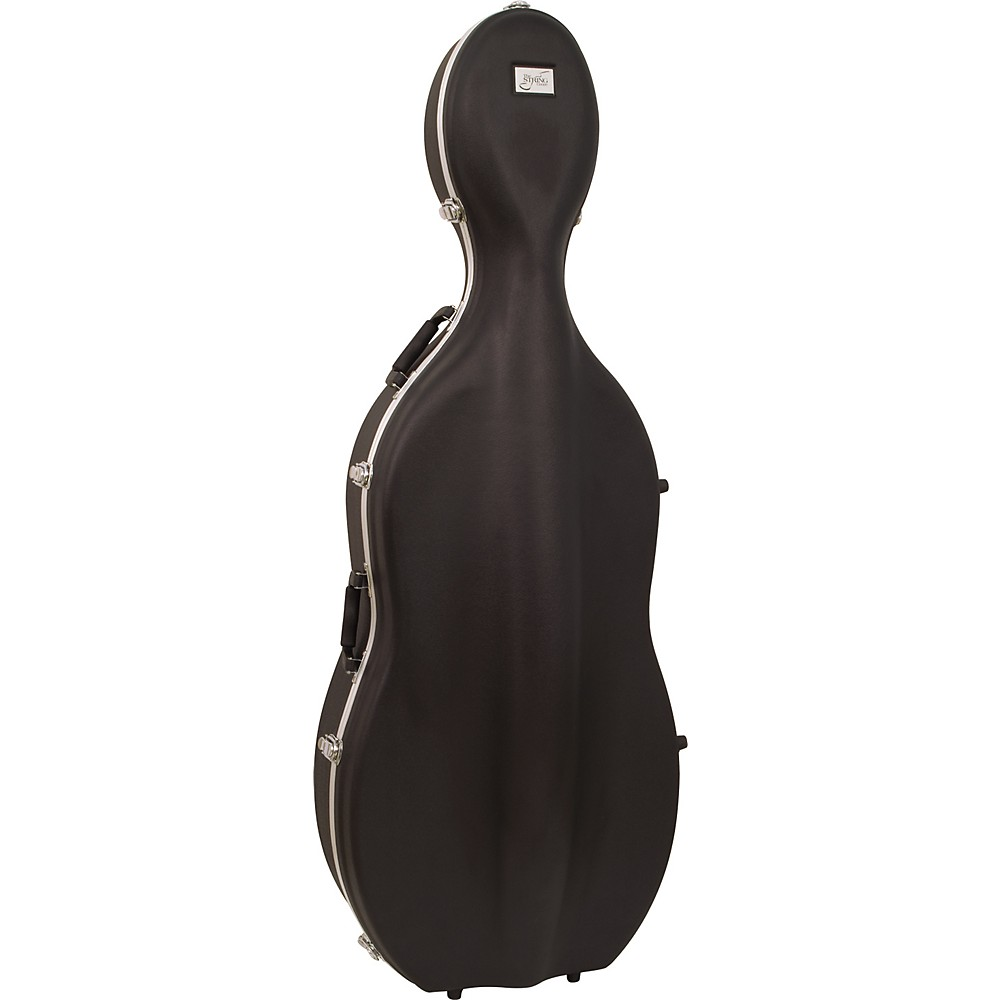 Bellafina ABS Cello Case with Wheels 3 4 Size by Bellafina