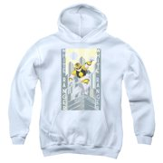 White Ranger Deco Big Boys Pullover Hoodie