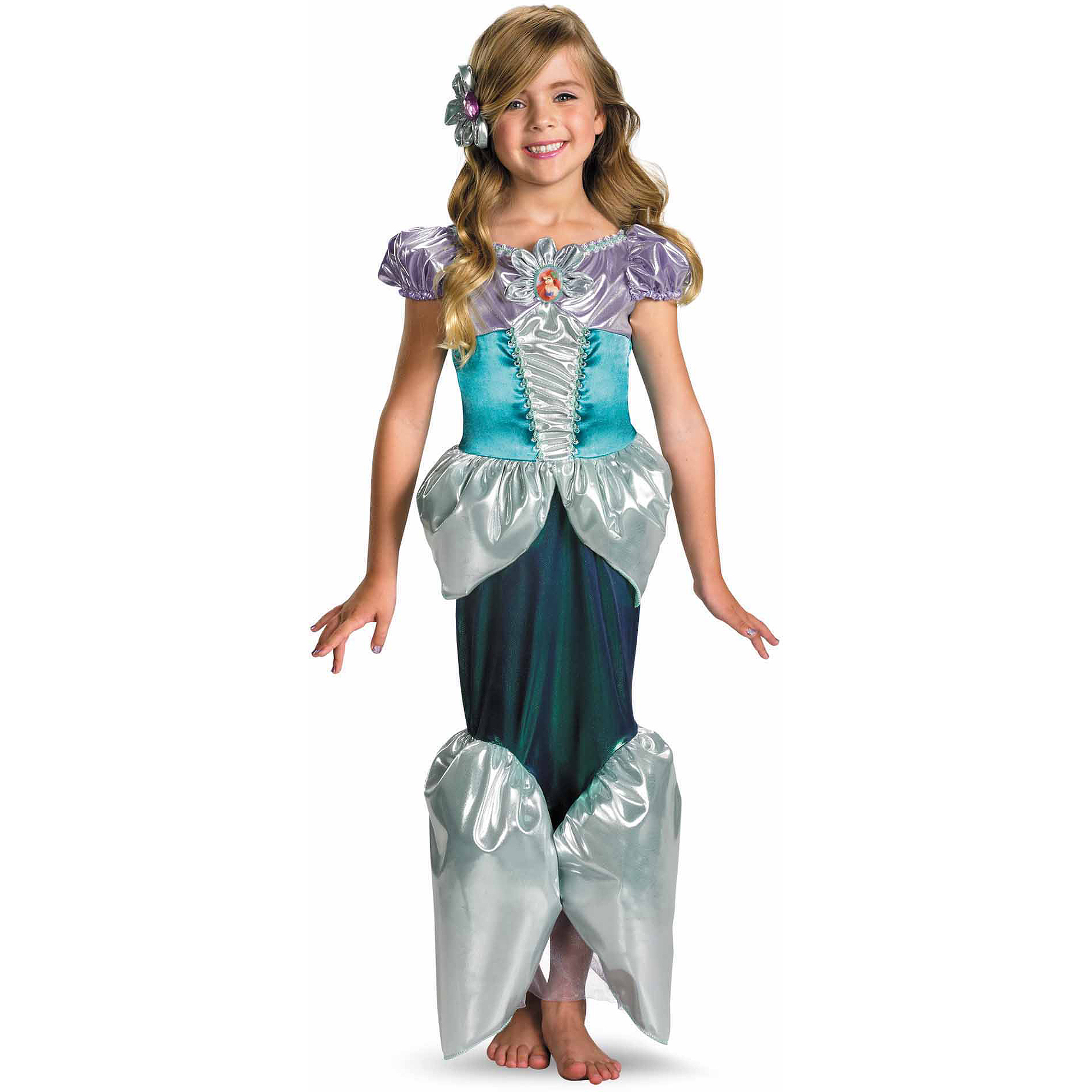 Ariel Deluxe Child Halloween Costume