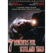 7 Murders for Scotland Yard by