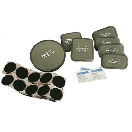 ACH Combat Ballistic Helmet Pad Upgrade Kit, Foliage Green,