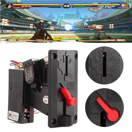 10Pcs CPU Coin Acceptor Selector Top Entry Slot Machine Mechanism Arcade Slot Vending Game