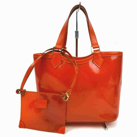 Louis Vuitton Orange Baia Lagoon Bay Plage Epi Clear Beach Tote with Pouch 860298