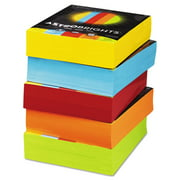 Color Paper - Five-Color Mixed Reams, 24lb, 8 1/2 X 11, 5 Colors, 2500 Sheets