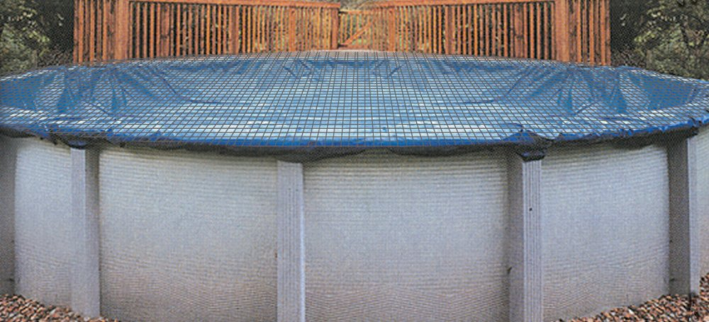 Buffalo Blizzard Above Ground Swimming Pool Micro Mesh Winter Cover /& Leaf Net