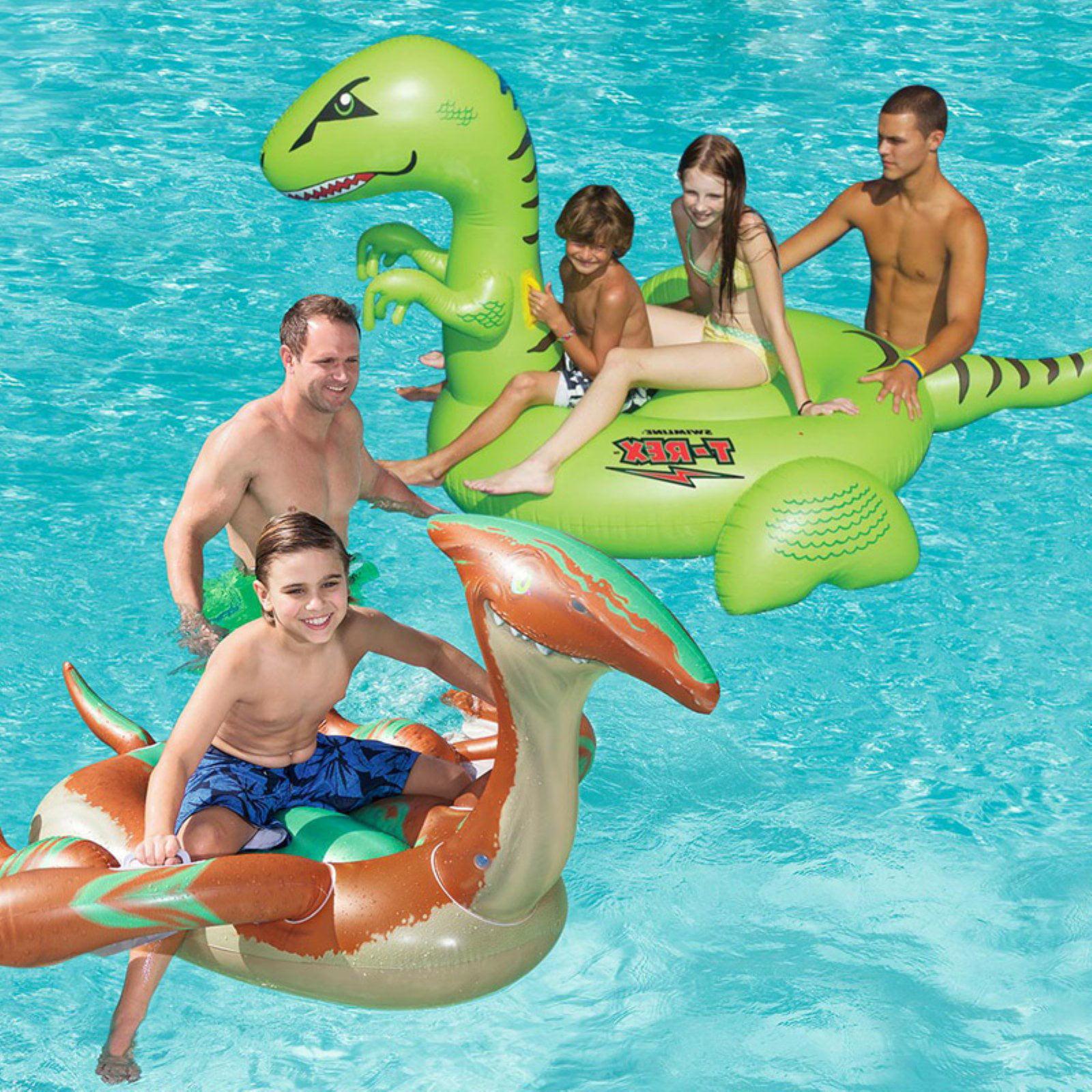 Robelle Dinosaur Swimming Pool Floats Combo Pack