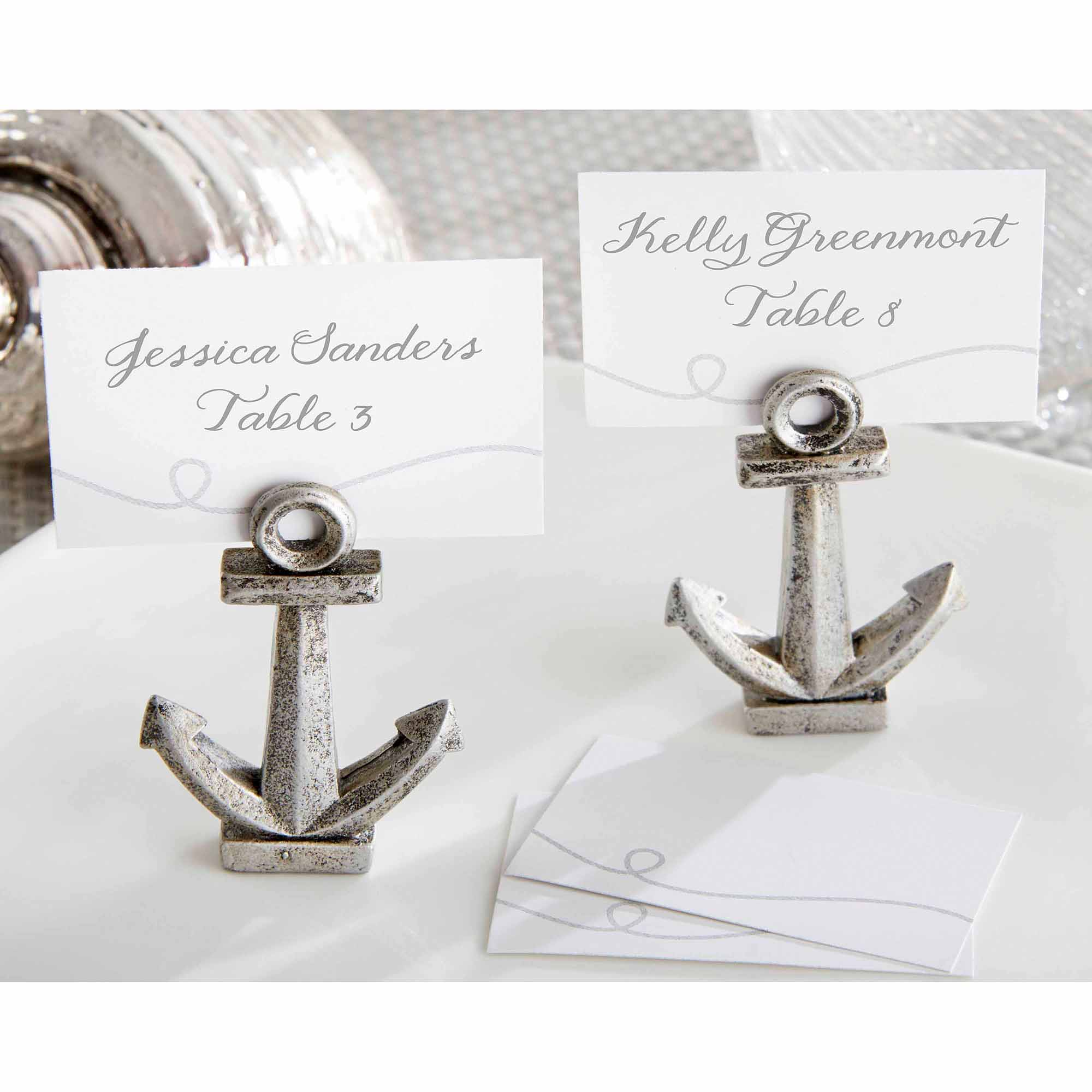 nautical anchor place card holders