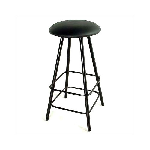 Grace Collection Straight Leg 24'' Swivel Bar Stool