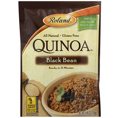 Roland Black Bean Quinoa  5 46 Oz  Pack Of 6