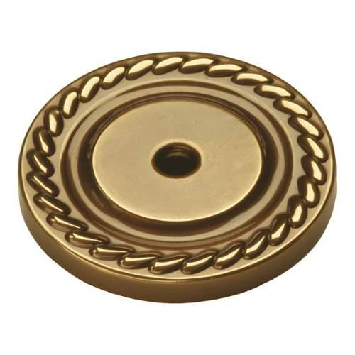 Keeler P6 Annapolis 1-1/2 Inch Diameter Cabinet Knob Backplate