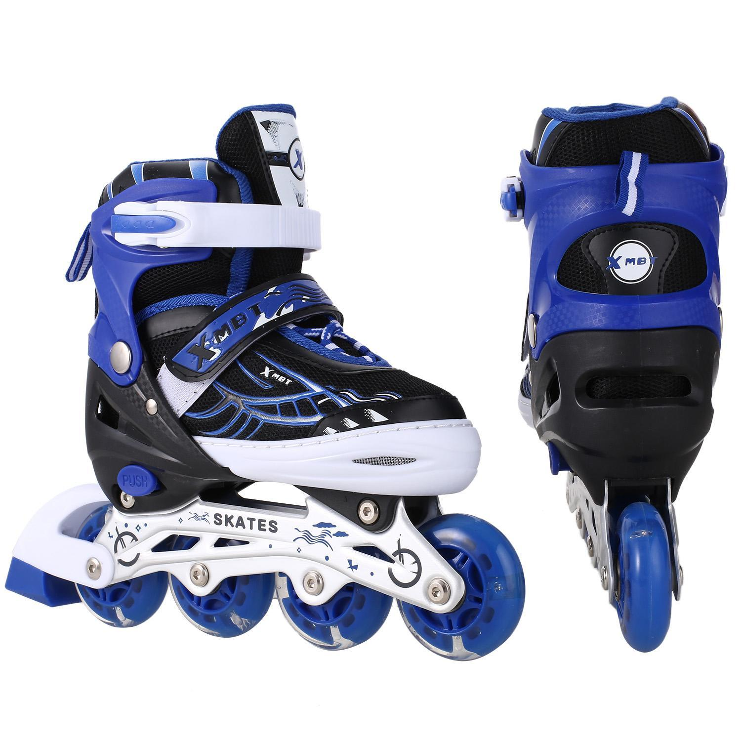 On sale! Kids Inline Skates with Light up Wheels, Stylish Rollerblades for Beginners boys and girls