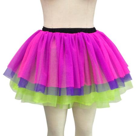 rainbow petticoat womens adult halloween costume largexl - Halloween Petticoat