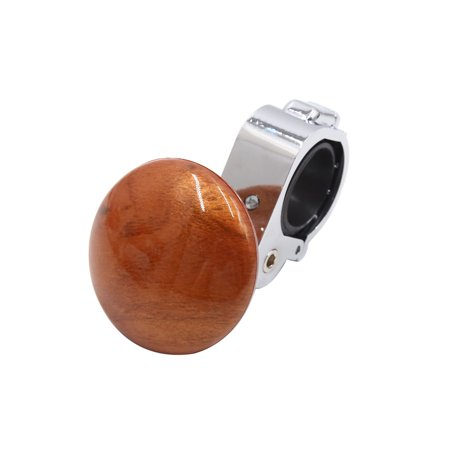 Brown Auto Car Power Steering Wheel Ball Grip  Knob Handle (Cars Suspension And Steering)