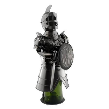 Wine Bodies Knight with Shield 1 Bottle Tabletop Wine Rack