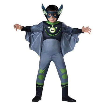 Wild Kratt Costume (Bat Wild Kratts Child Costume)